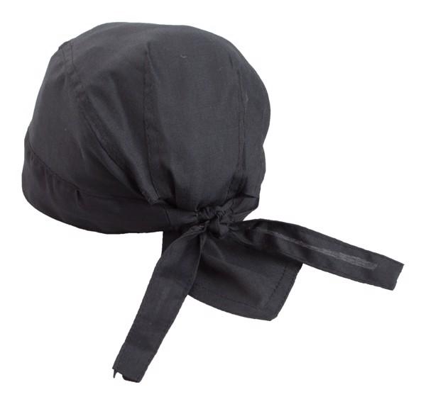 Šátek Na Hlavu Garfy - Černá