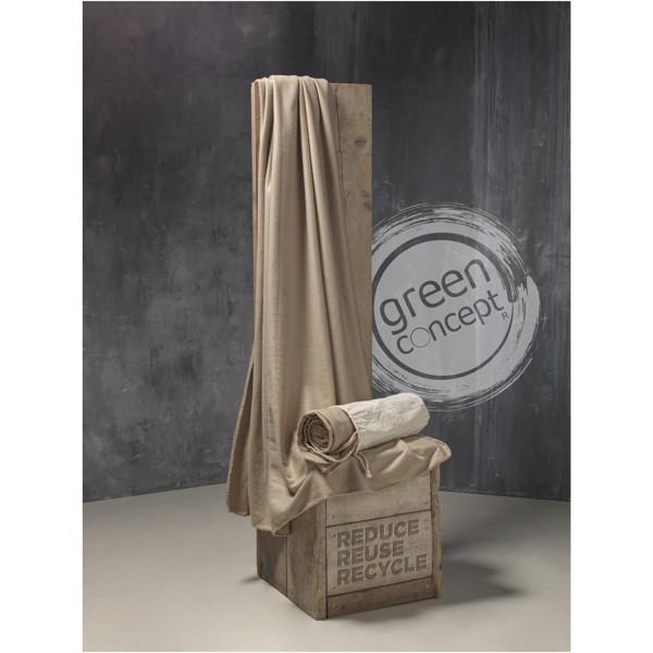 Aira RPET mikroplyšová fleece deka s vakem z bavlny