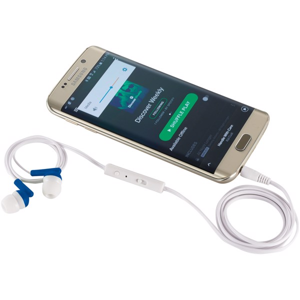 Command earbuds - Royal blue / White
