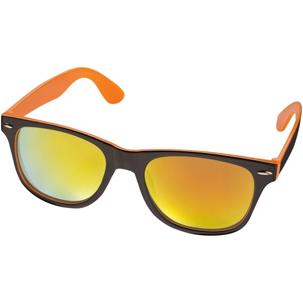 Baja sunglasses - Orange / Solid black