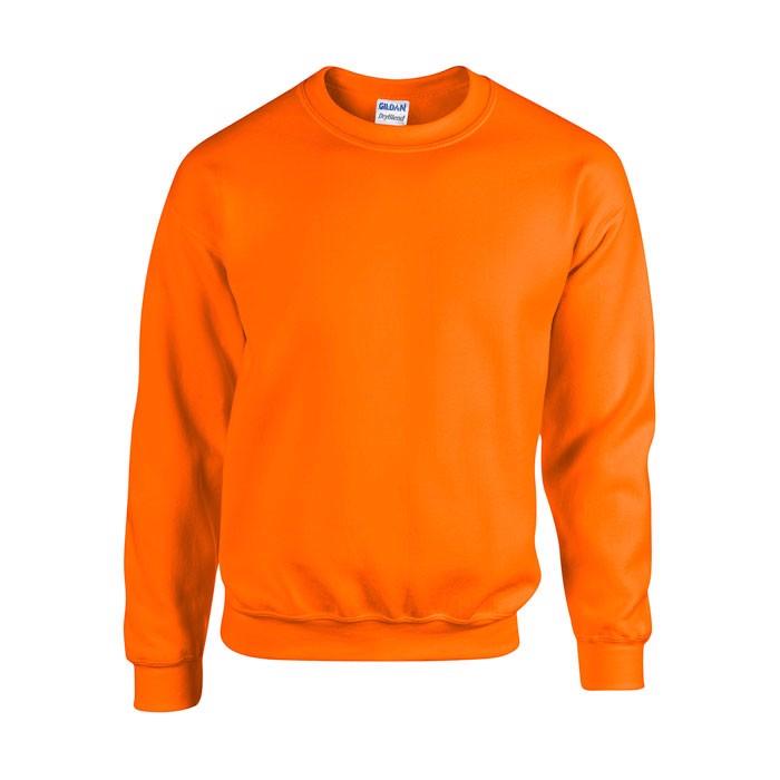 Mikina Heavy Blend Sweat 18000 - Safety Orange / M