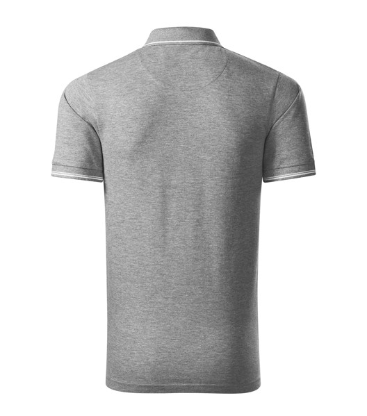 Polo Shirt men's Malfinipremium Perfection plain - Dark Gray Melange / M
