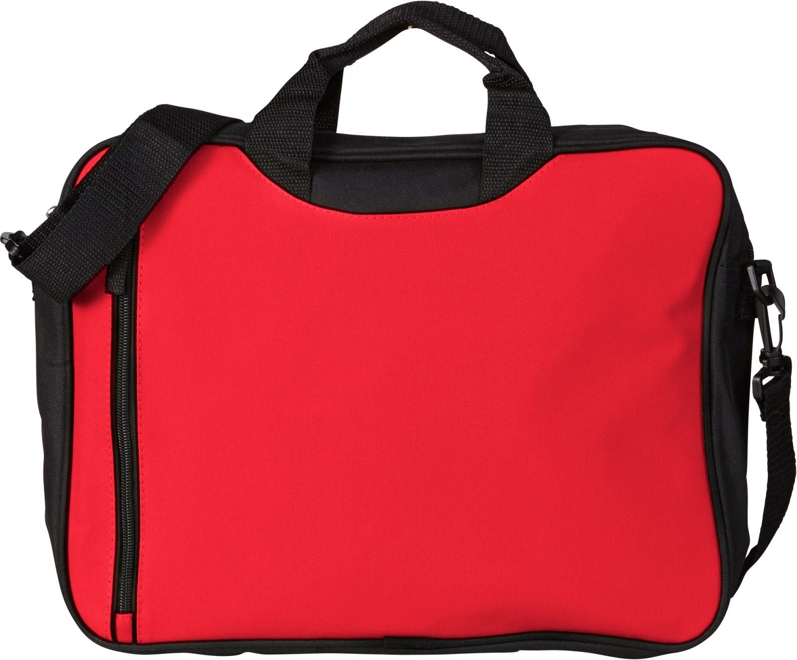 Polyester (600D) shoulder bag - Red