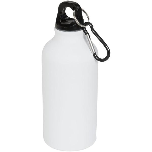 Matová sportovní láhev Oregon 400 ml s karabinkou