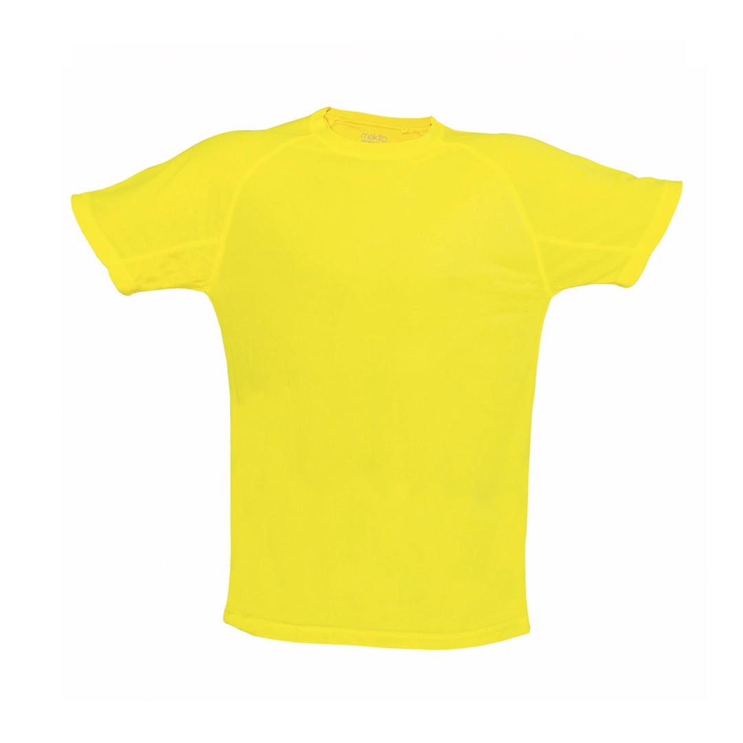 T-Shirt Adulto Tecnic Plus - Amarelo Fluor / M
