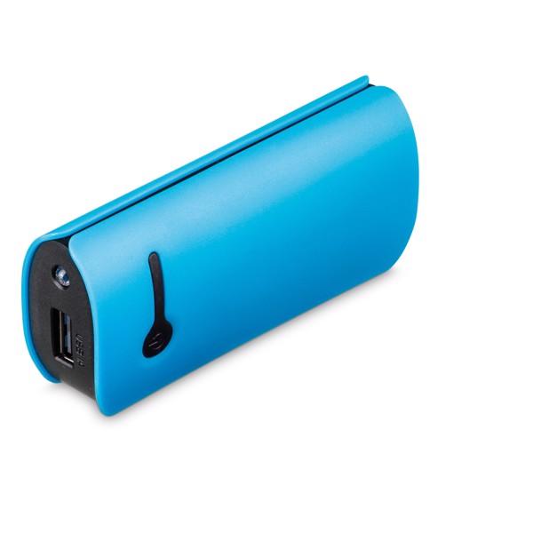 OPTIMUS. Portable battery - Γαλάζιο