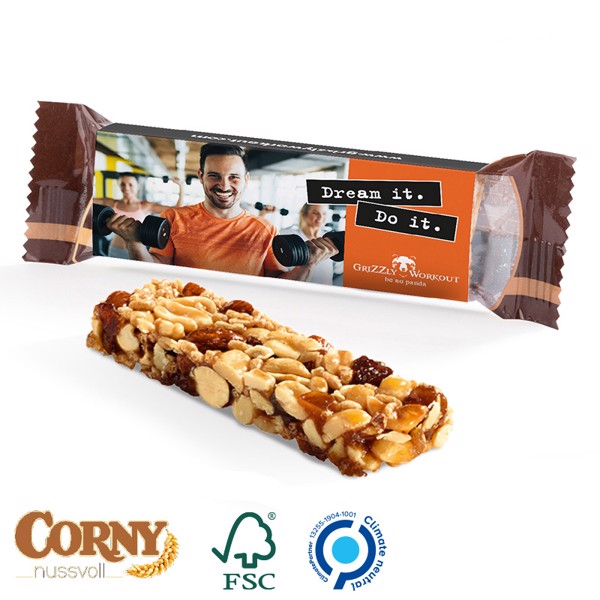 Corny Nut Bar, Peanut & Whole Milk - White