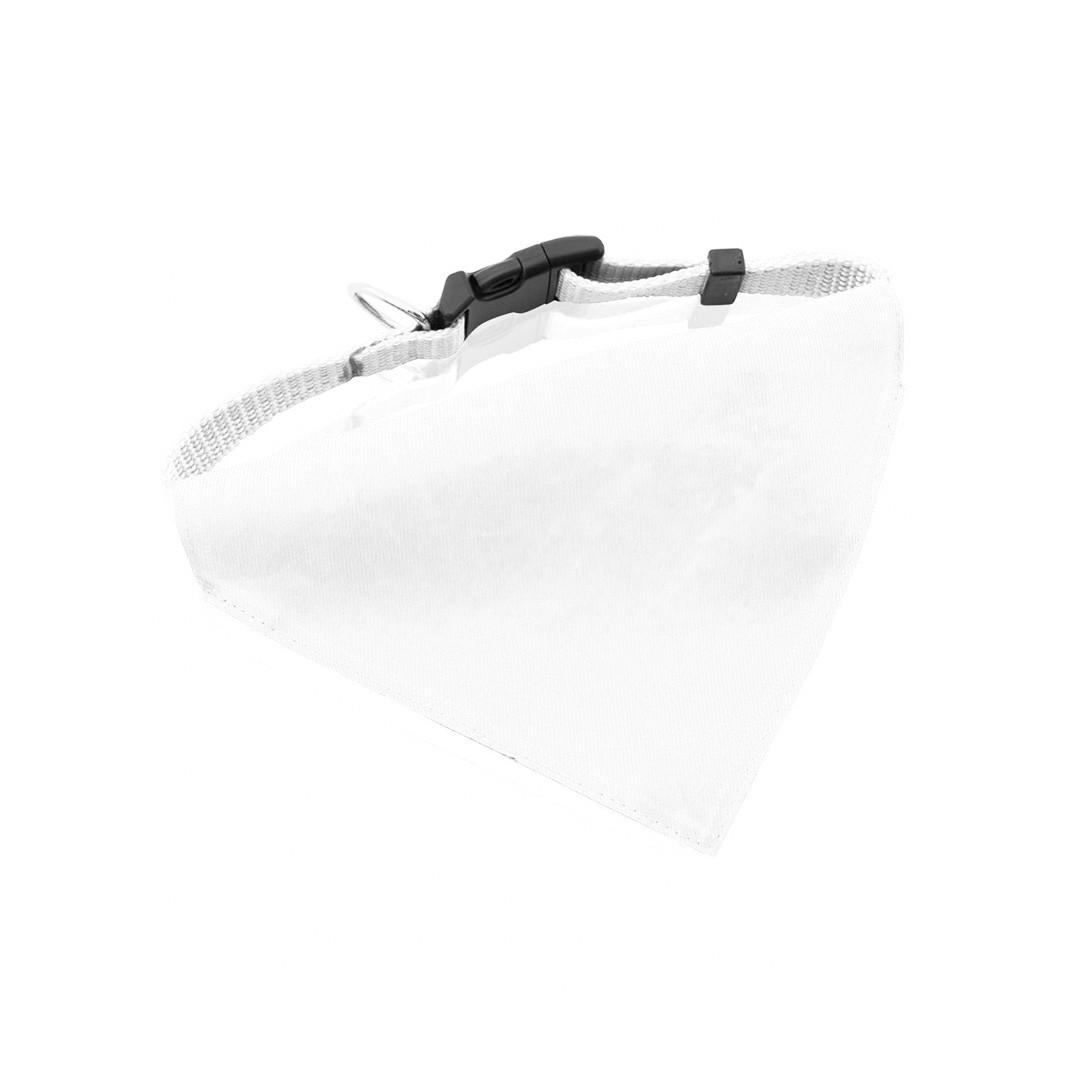 Bandana Pet Collar Roco - White