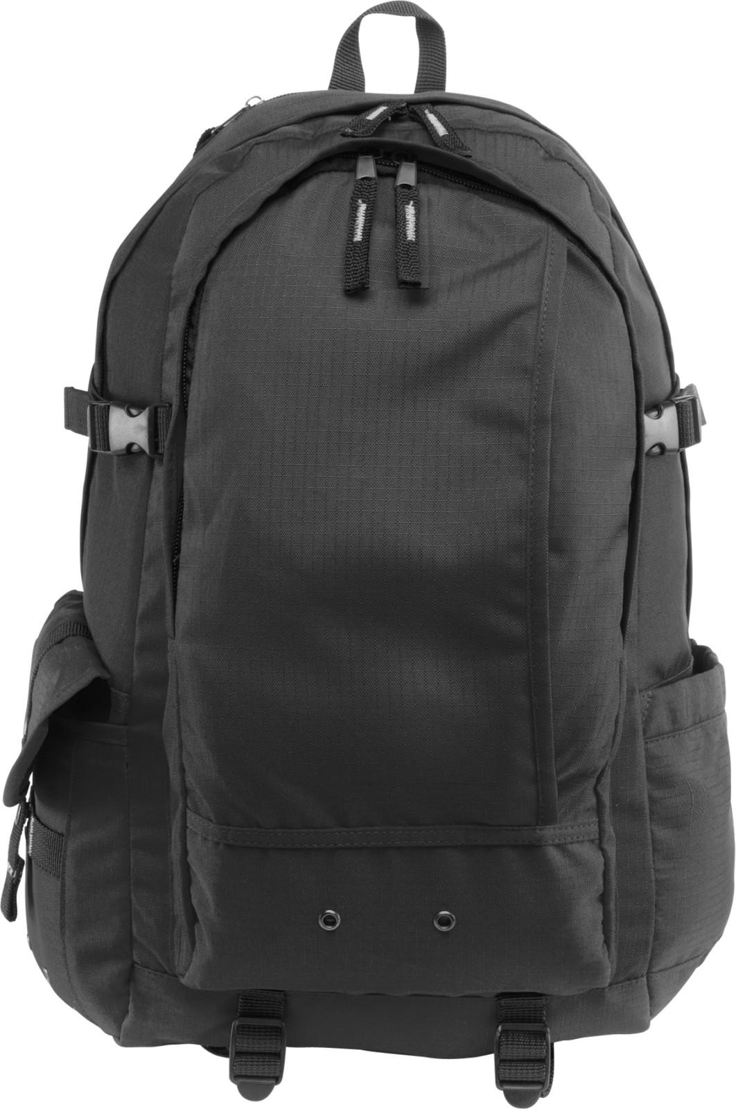 Ripstop (210D) backpack - Black