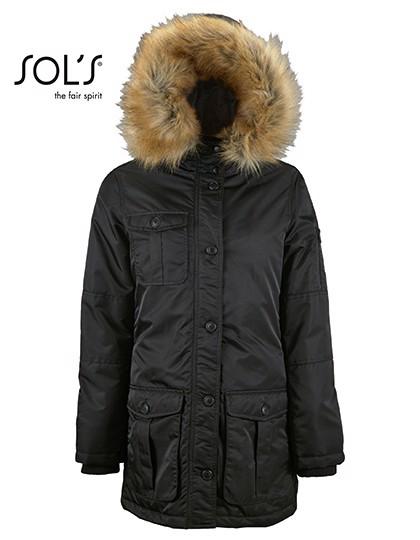 Women`S Warm And Waterproof Jacket Ryan - Black / S