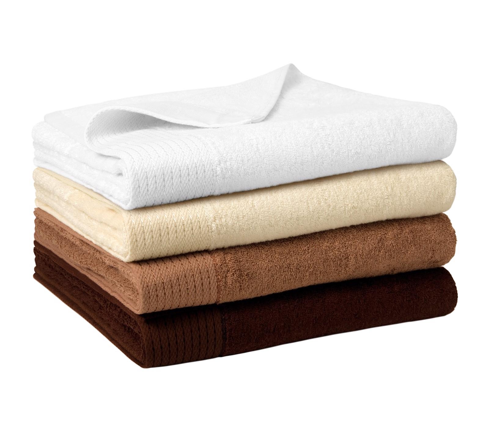 Osuška unisex Malfinipremium Bamboo Bath Towel - Nugátová / 70 x 140 cm