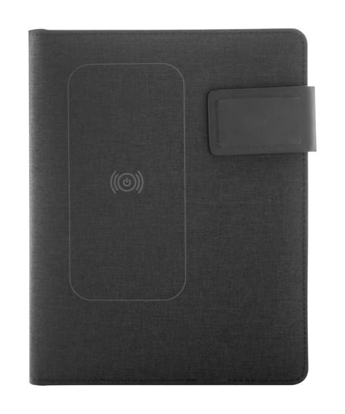 Document Folder Malvet - Black