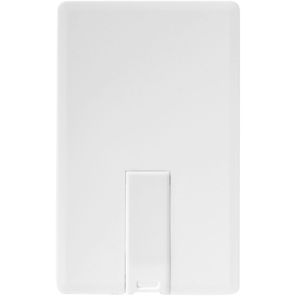 Slim Credit card - White / 1GB