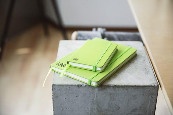 PU notebook - Light Blue