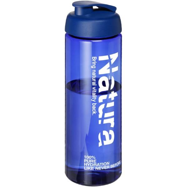H2O Vibe 850 ml sportovní lahev s vyklápěcím víčkem - Modrá