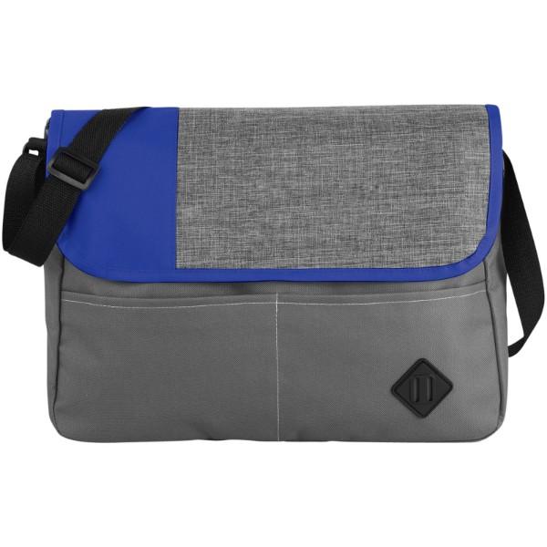 Konferenční taška Offset - Šedá / Světle modrá