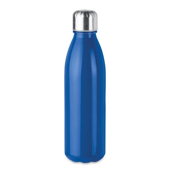 Szklana butelka  650 ml Aspen Glass - niebieski