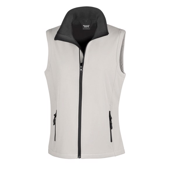 Softshell bodywarmer LDS Lady Bodywarmer R232f - White / S