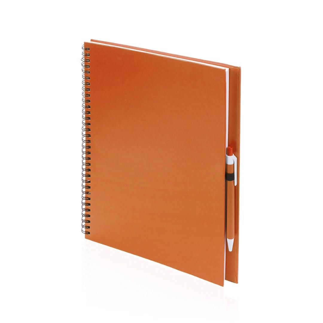 Libreta Tecnar - Naranja