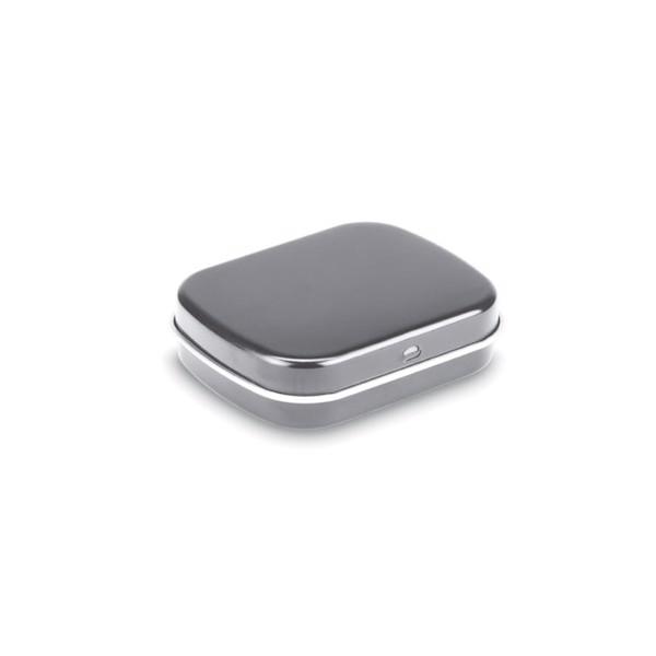 Easy tin with mints Brise - Matt Silver