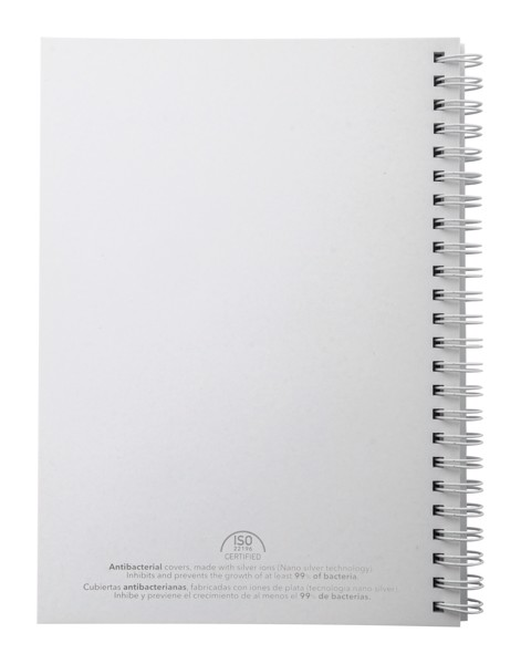 Anti-Bacterial Notebook Polax - White