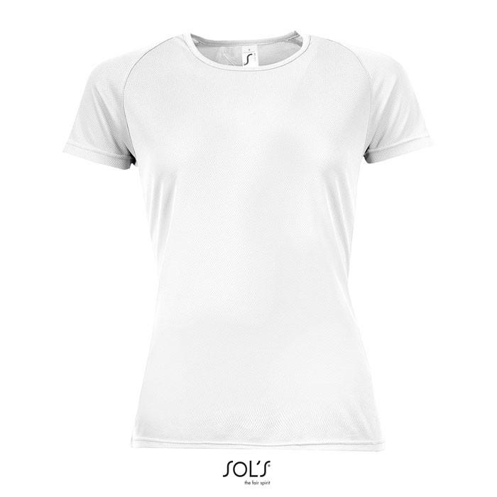 SPORTY CAMISETA MUJER 140g Sporty Women - Blanco / XL