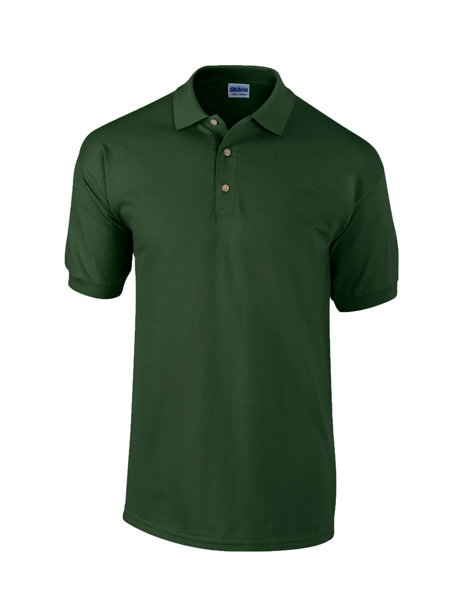Pique Polo Shirt Ultra Cotton - Old Kelly Green / XL