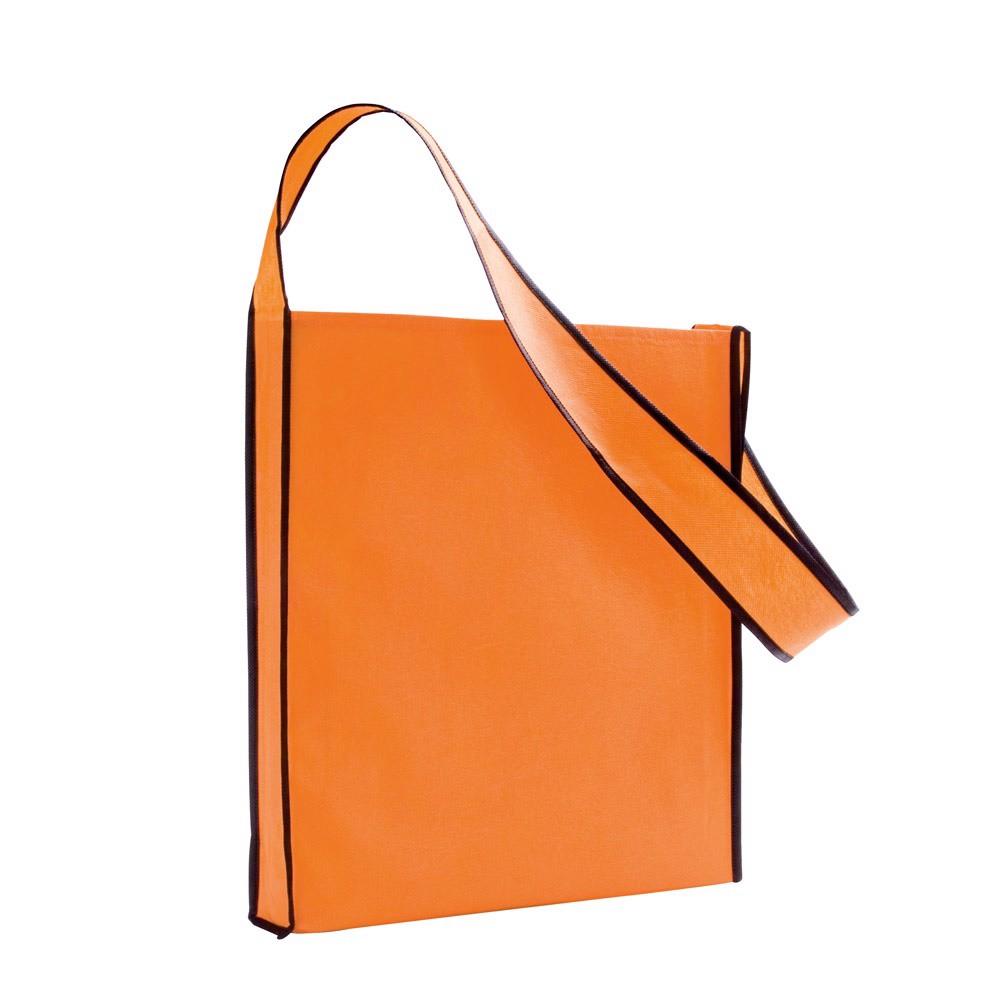 GERE. Non-woven shoulder bag - Orange