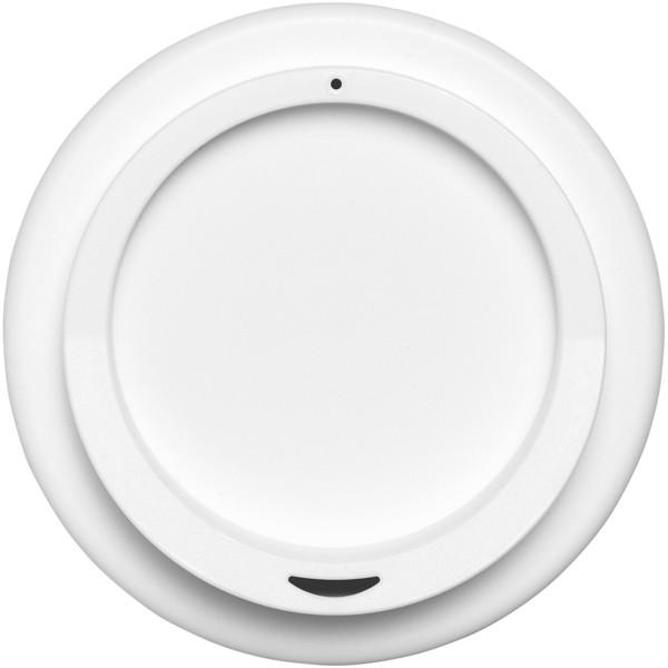 Americano® Vaso térmico de 350 ml - Plateado / Blanco