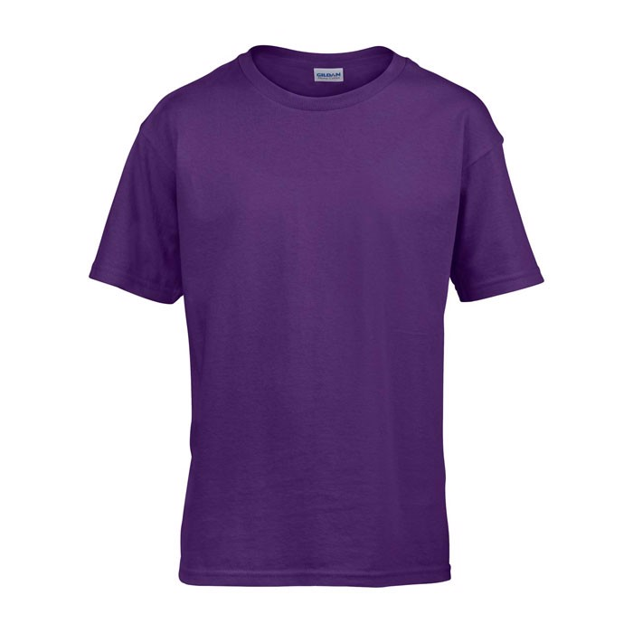 Kids t-shirt 150 g/m² Kids Ring Spun T-Shirt 64000B - Purple / XL