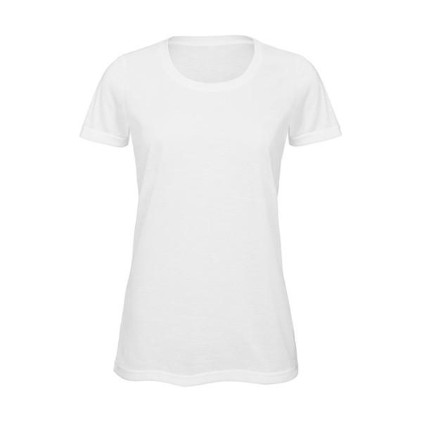 Damen T-Shirt 140 g/m2 Sublimation T-Shirt Women - White / M