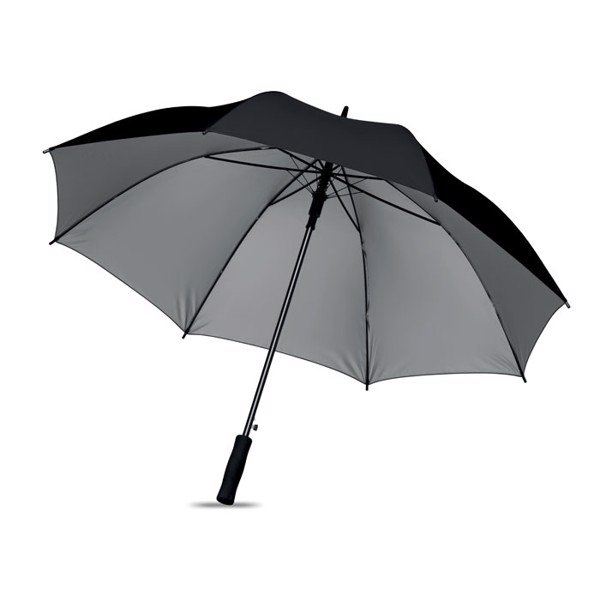 27 inch-es esernyő Swansea+ - fekete