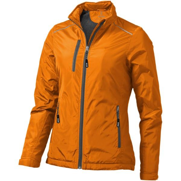 Smithers fleece lined ladies jacket - Orange / M