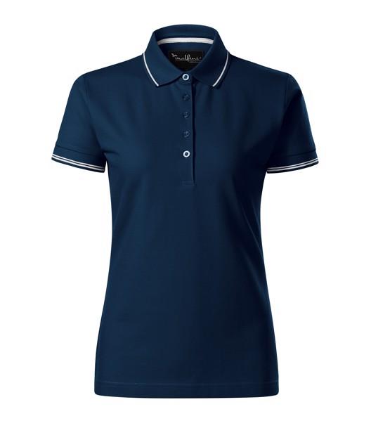 Polo Shirt women's Malfinipremium Perfection plain - Navy Blue / S