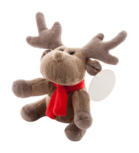Plush Reindeer Rendjur - Brown