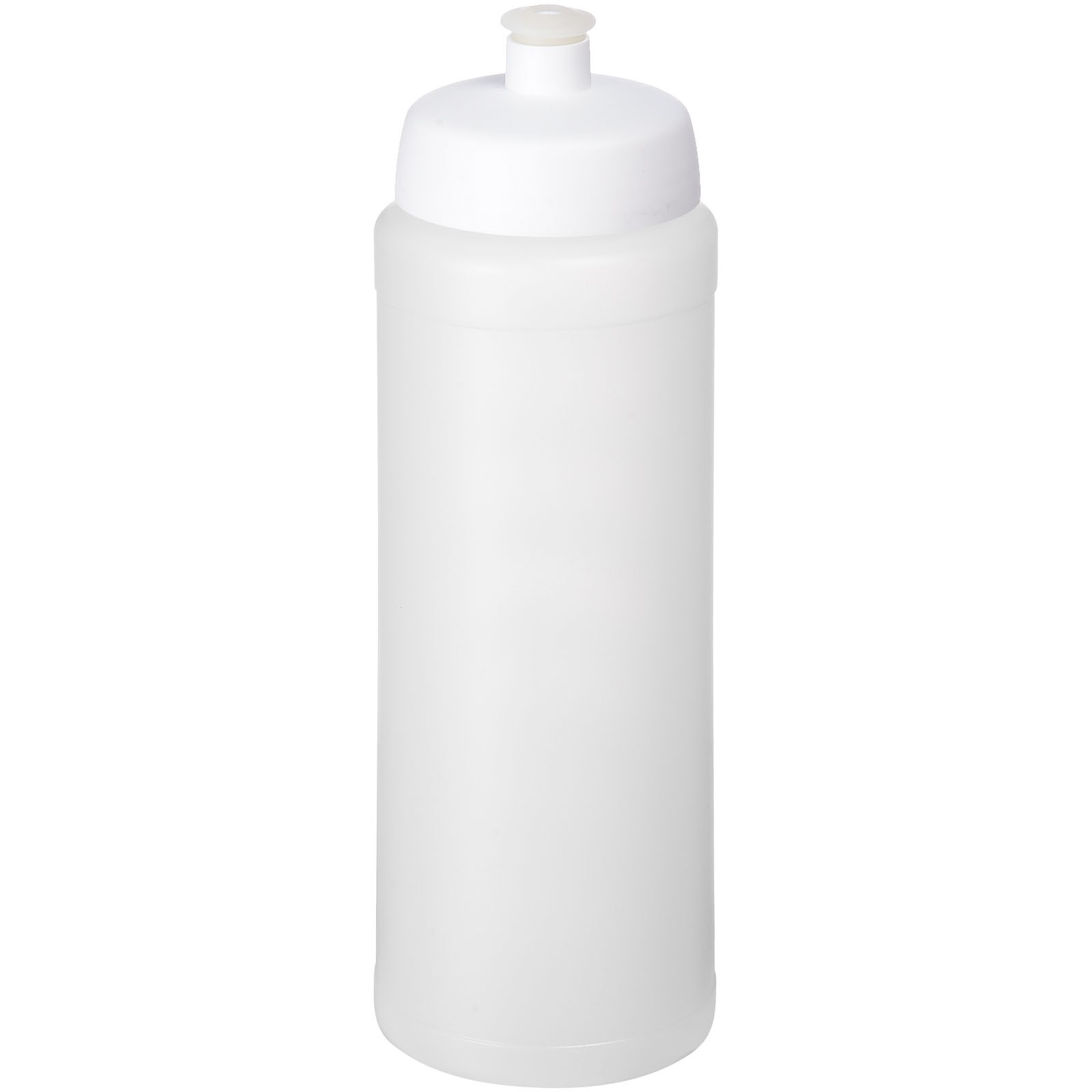 Baseline® Plus grip 750 ml sports lid sport bottle - Transparent / White