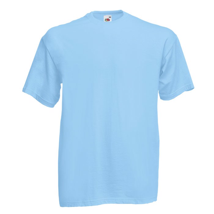 T-shirt 165 g/m² Value Weight T-Shirt 61-036-0 - Sky Blue / XXL