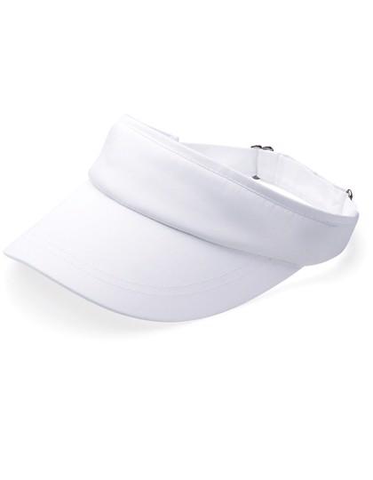 Sports Visor - White / One Size