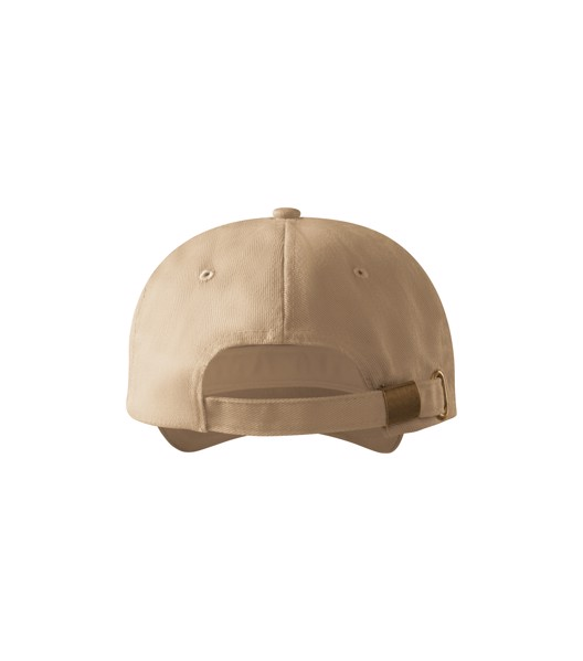 Cap unisex Malfini 6P - Sand / adjustable