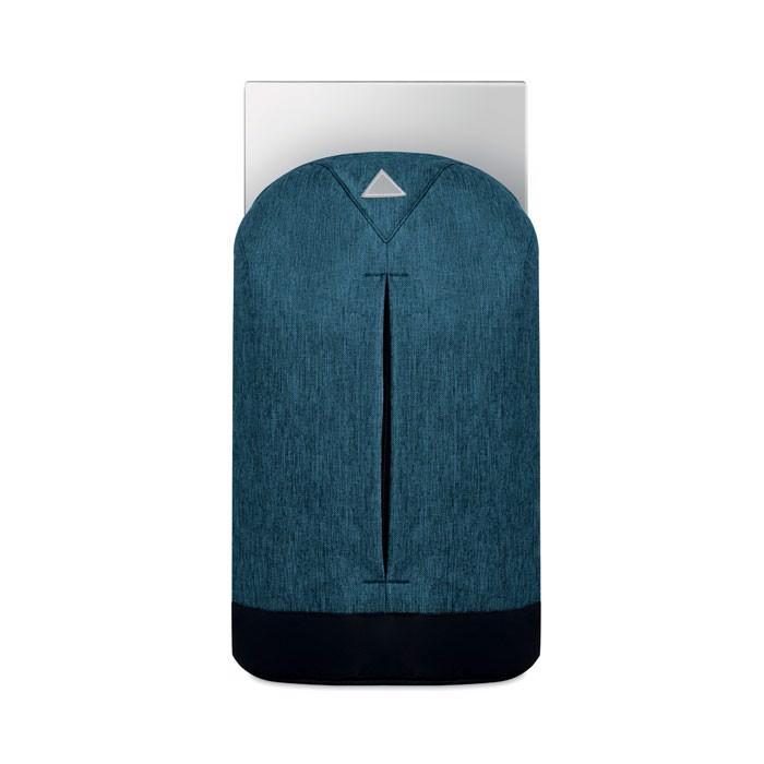 Diebstahlsicherer Rucksack Milano - blau