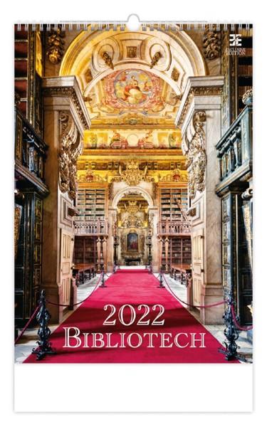 Měsíční kalendář Bibliotech 2022