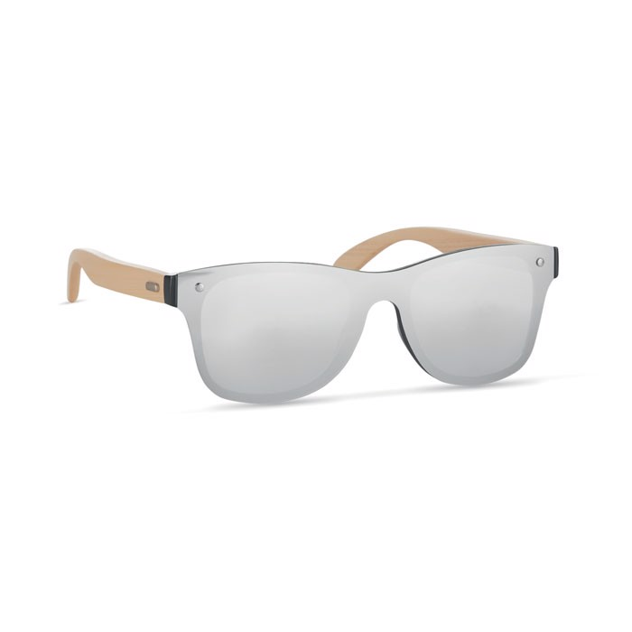 Okulary przeciwsłoneczne Aloha - srebrny błyszczący