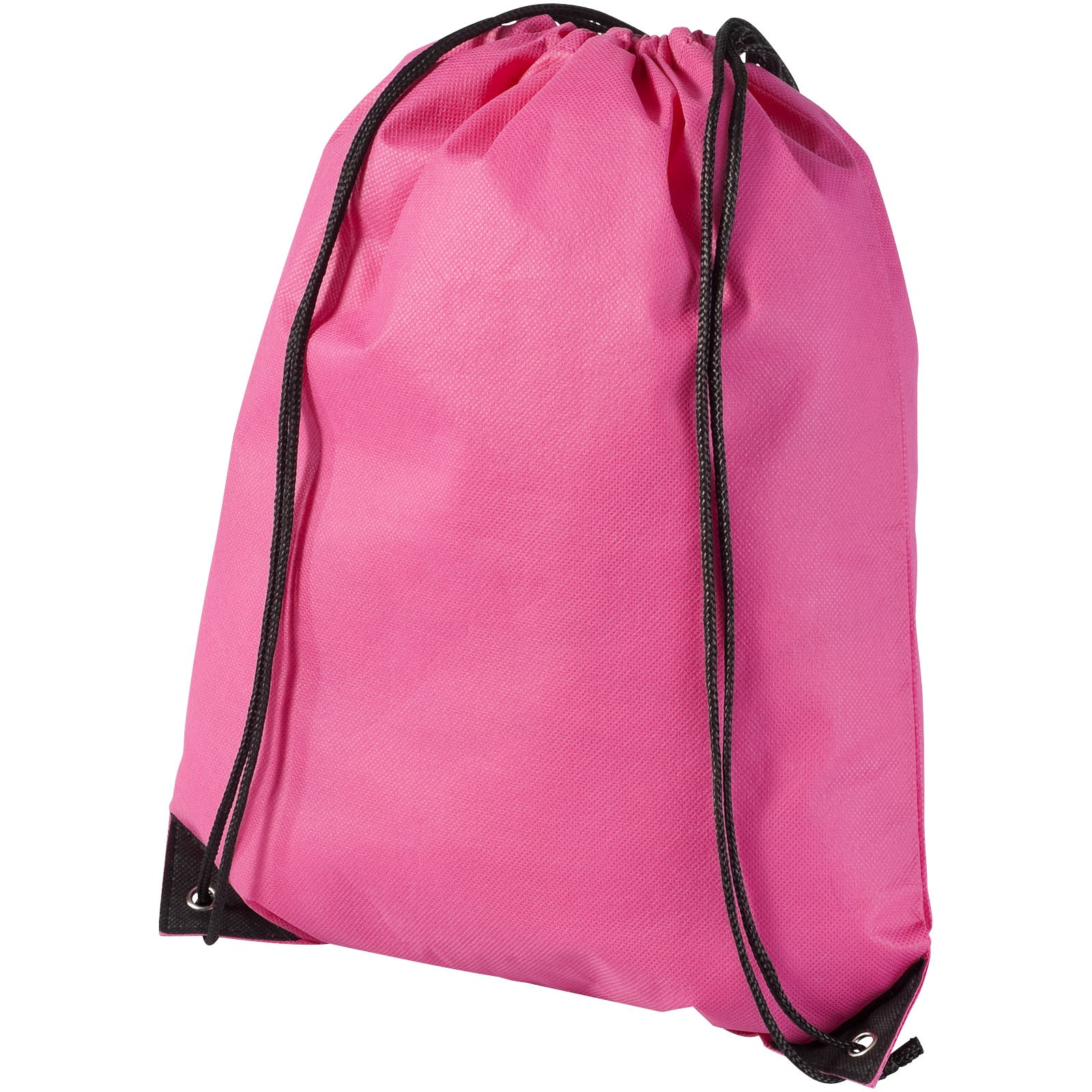 Evergreen non-woven drawstring backpack - Magenta