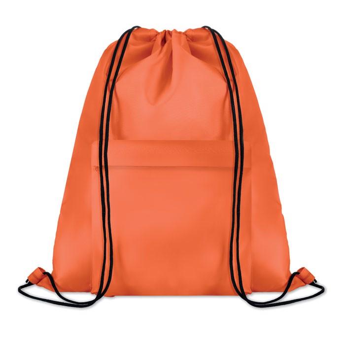 Large drawstring bag Pocket Shoop - Orange