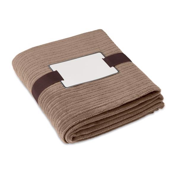 Fleece blanket  240 gr/m2 Cap Code - Khaki
