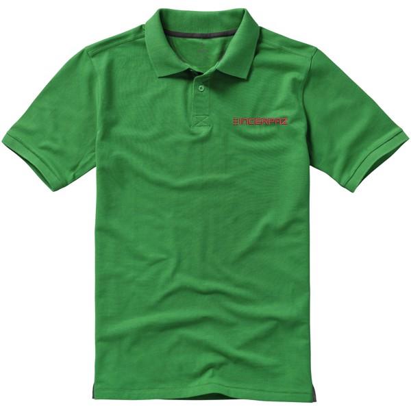 Calgary short sleeve men's polo - Fern green / S