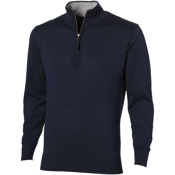 Set quarter zip pullover - Navy / 3XL