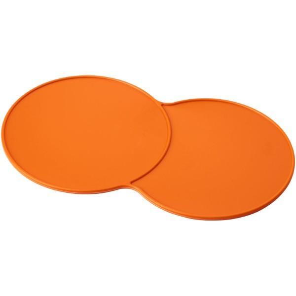 Sidekick plastic coaster - Orange