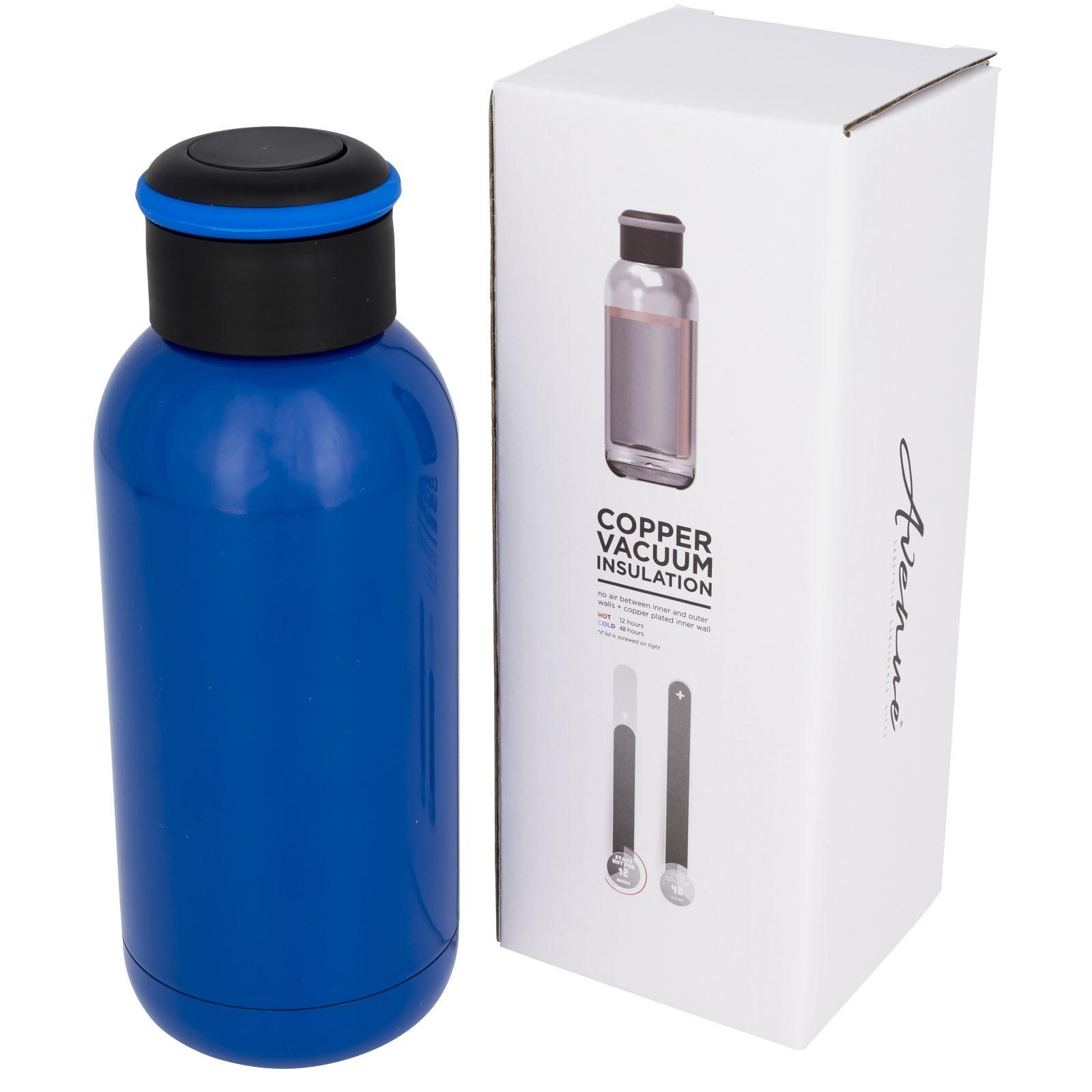 Copa 350 ml mini copper vacuum insulated bottle - Blue