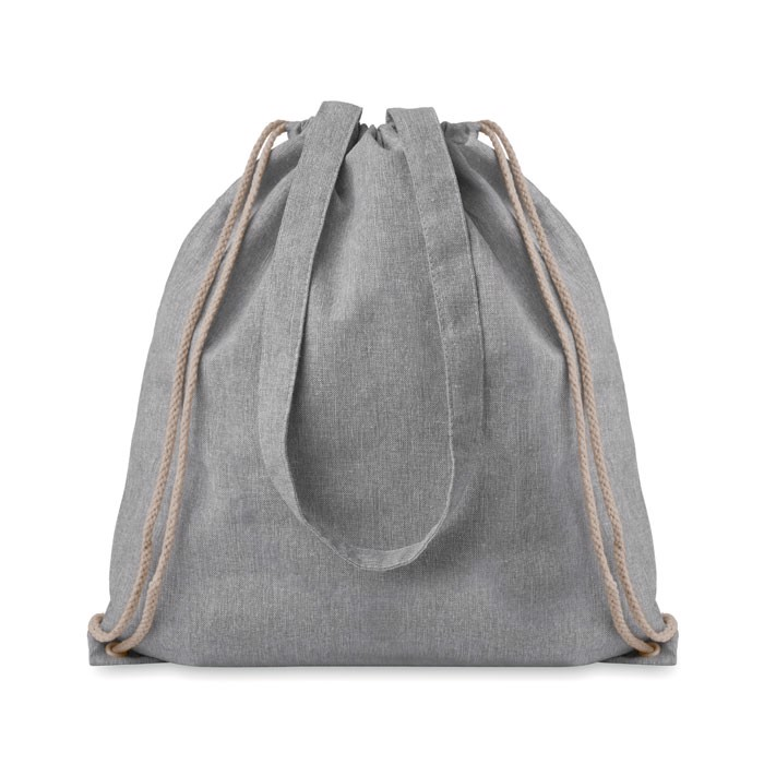 Recycled fabric 2 function bag Moira Duo - Grey